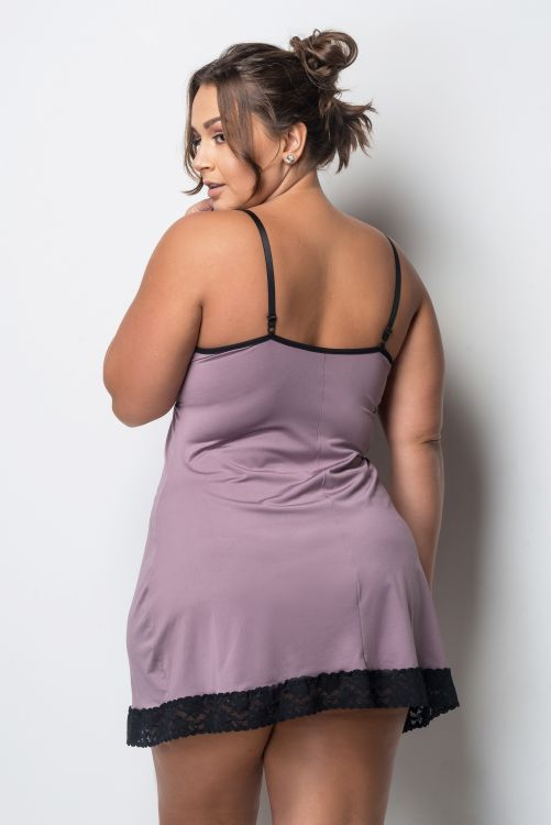 Camisola Plus Size Color Black