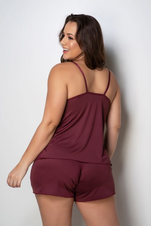 Short Doll Plus Size Liso